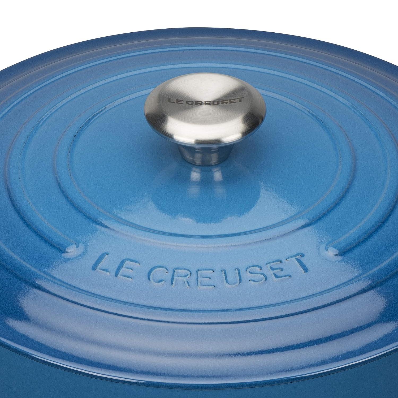 LE CREUSET Cocotte, Azul Marsella, 26 cm