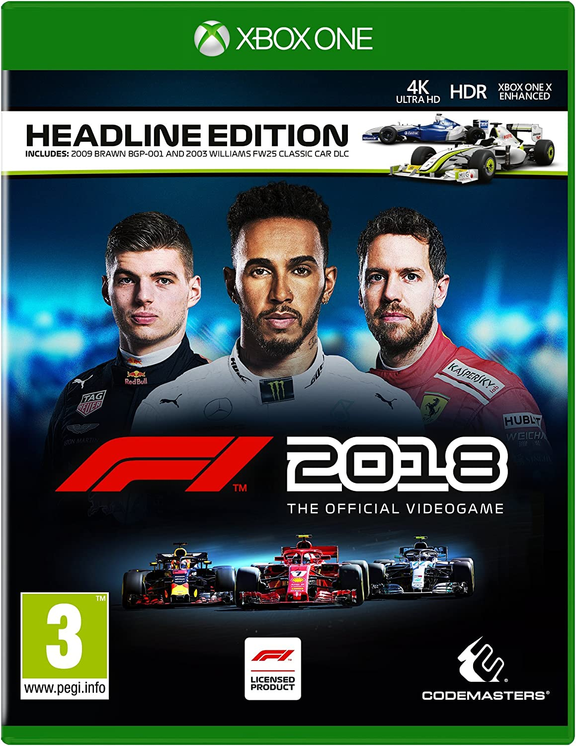F1 2018 Headline Edition - Xbox One [Importación inglesa]: Amazon.es: Videojuegos