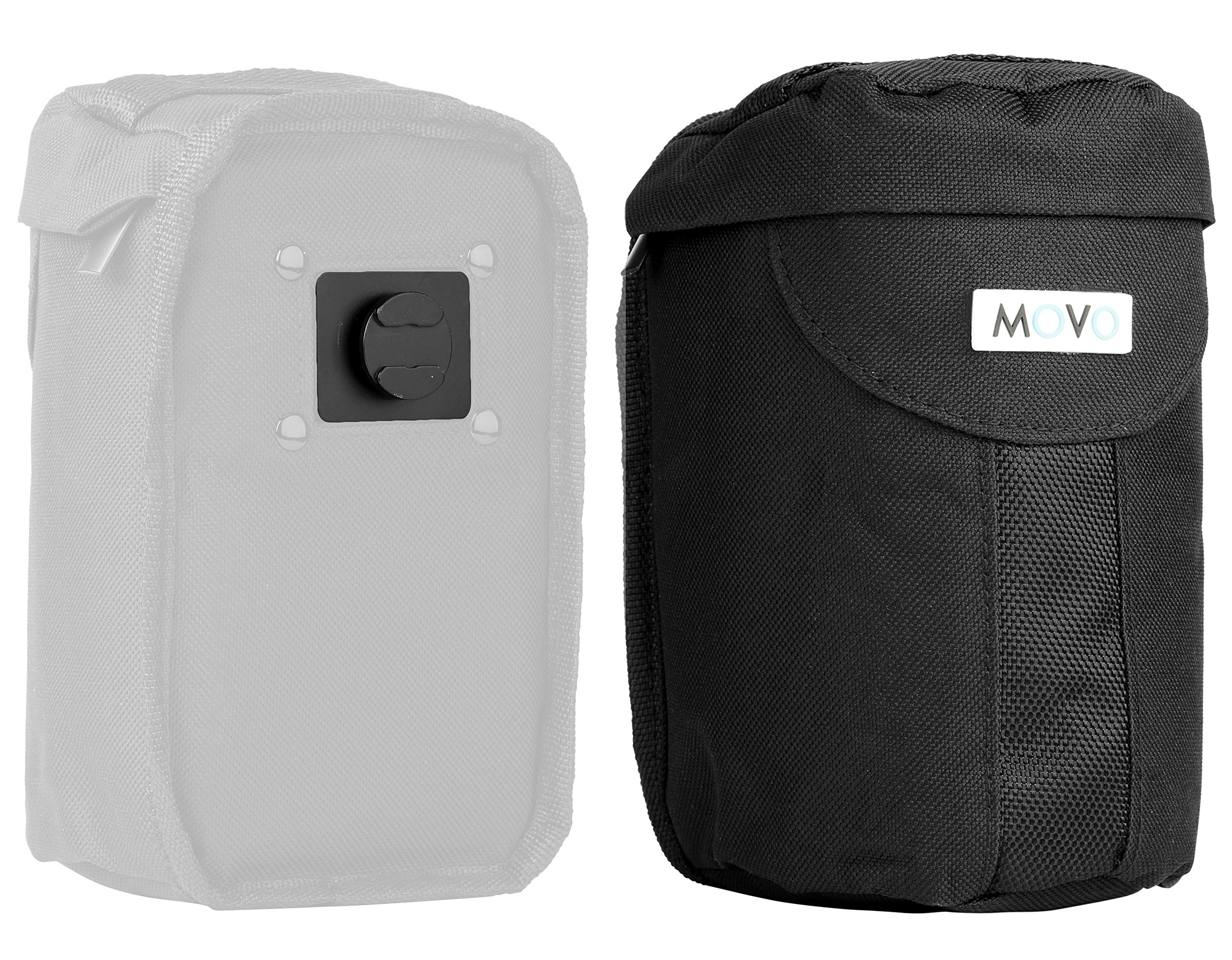 Movo LCB300 Lens Pouch Add-on for the MB2000, MB1000, MB700, MB600 Camera Carrier Holster Systems by Movo