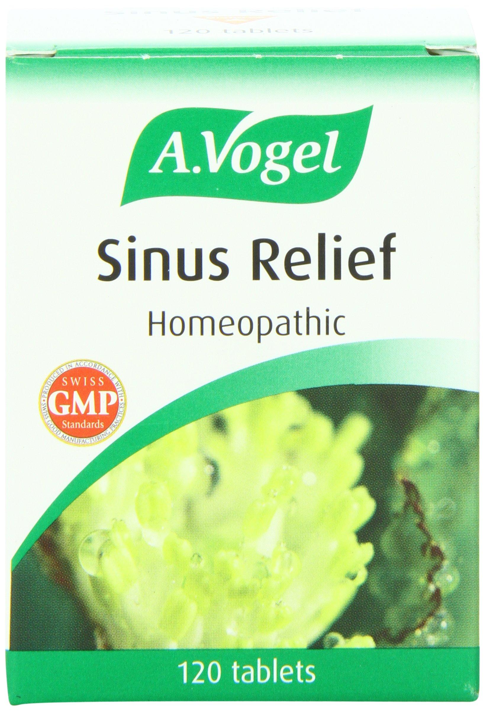 Bioforce Sinus Relief Nutritional Supplements, 120 Count