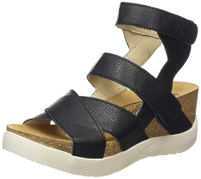 Amazon.com | FLY London Women's Wege669fly Platform Sandal | Platforms &  Wedges