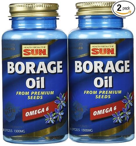 Amazon.com: La Salud desde el Sol borage 300 mg, 30 Cápsulas ...