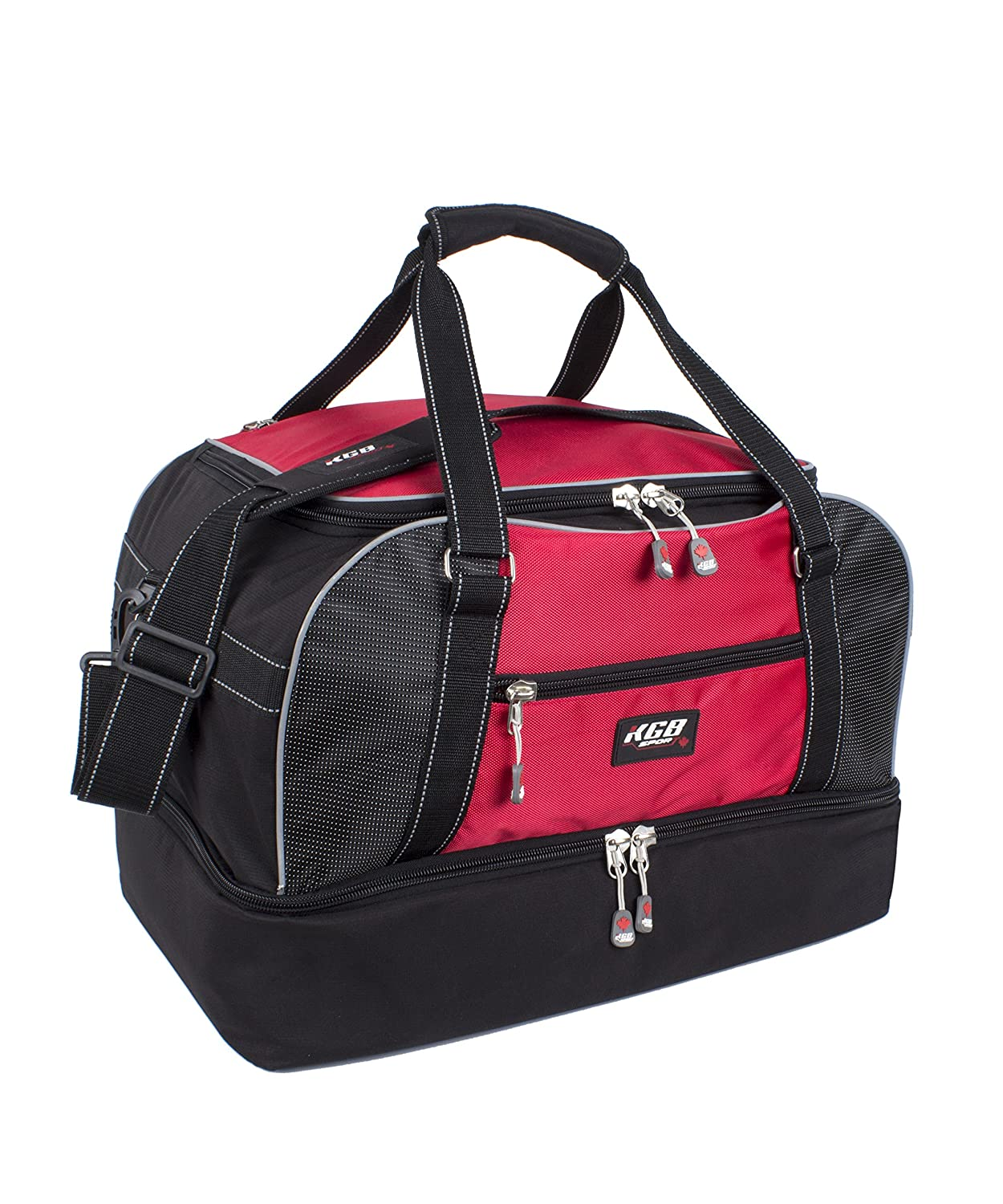 KGB Sport Drop Bottom Boots Duffle Red One Size