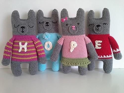 Millie-Rose the Teddy Bear amigurumi pattern - Amigurumipatterns.net | 375x500
