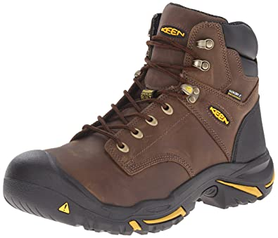 KEEN Utility Men's Mt. Vernon Mid Work Boot, Cascade Brown, ...