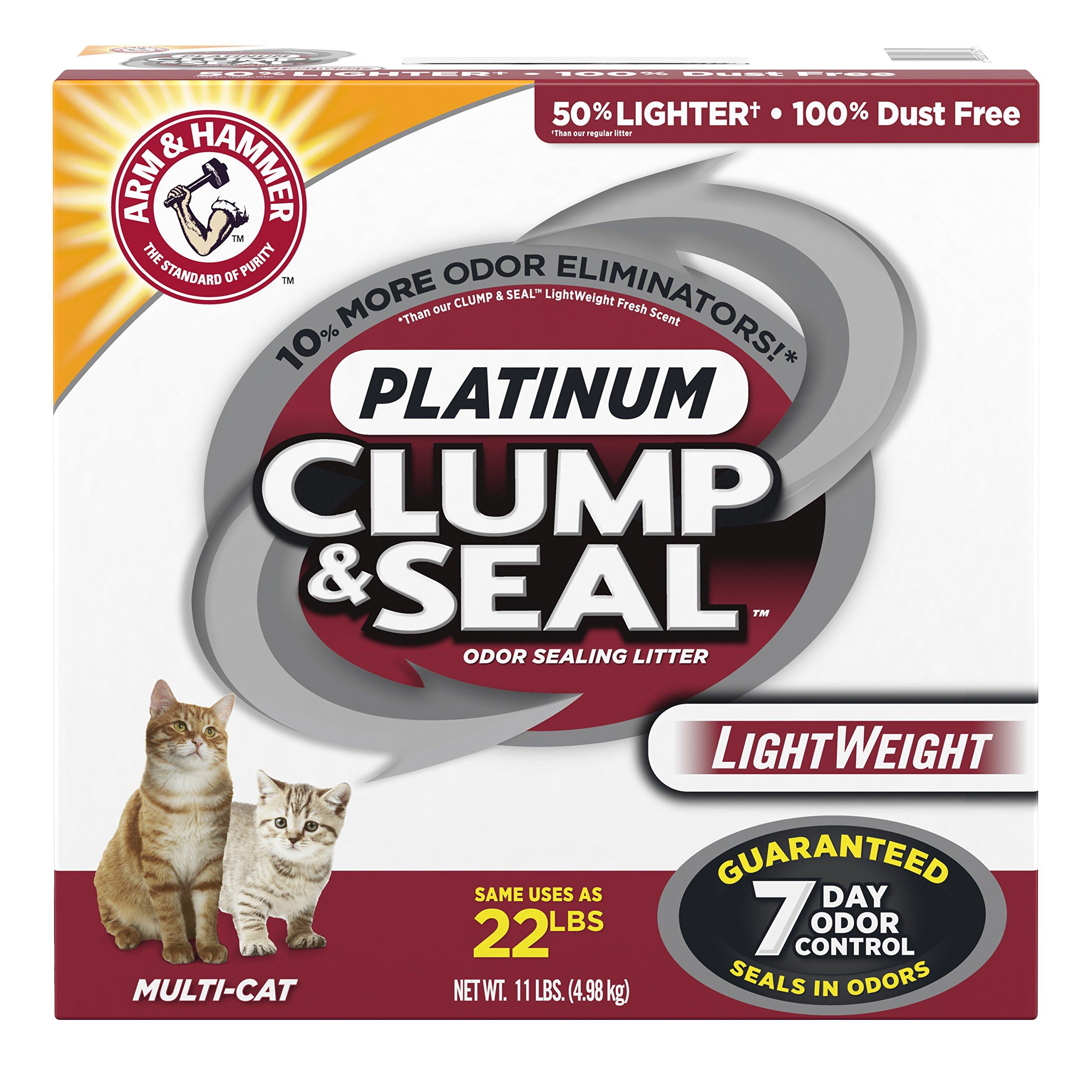Arm & Hammer Clump & Seal Lightweight Litter