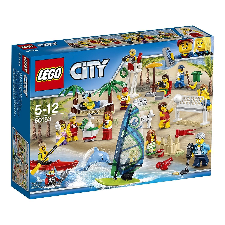 LEGO City Town Pack de minifiguras: Diversión la playa