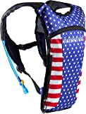 SoJourner Bags Hydration Pack Backpack - 2L Water Bladder Included for Festivals, Raves, Hiking, Biking, Climbing, Running and More