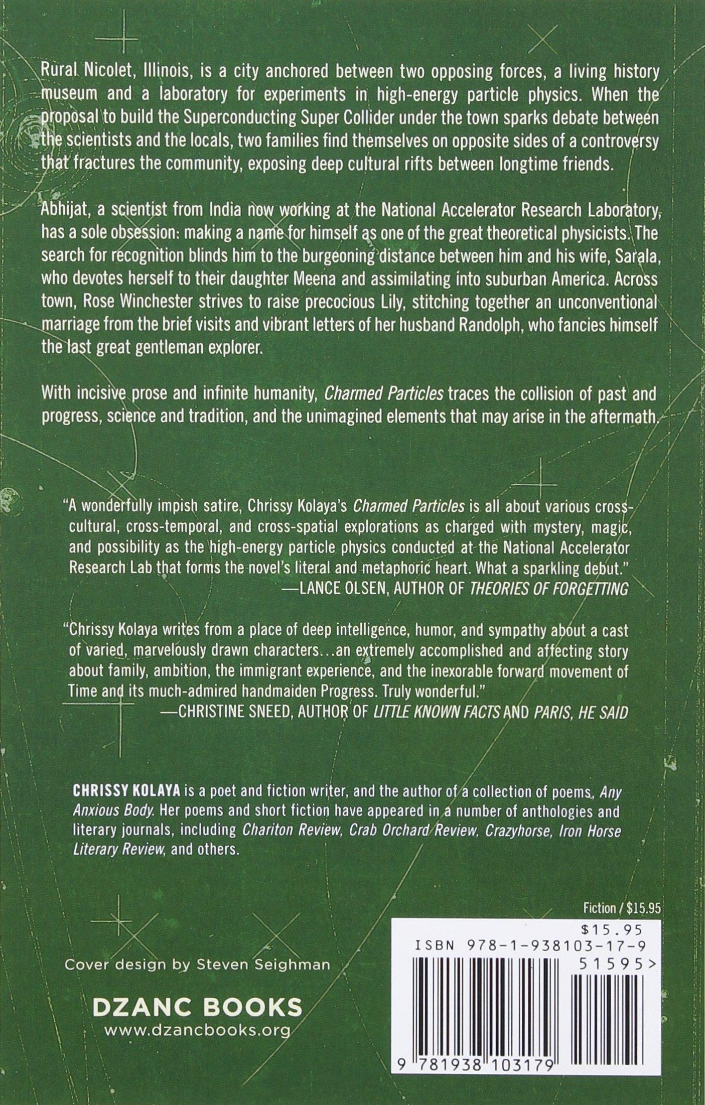Amazon: Charmed Particles: A Novel (9781938103179): Chrissy Kolaya:  Books
