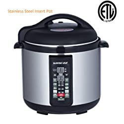 Stainless-steel Cooking Pot/ 6-in-1 Electric Pressure Cooker/Slow Cooker