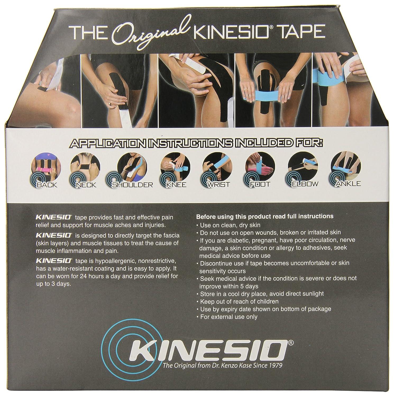BLACK 31.5m x 5cm Bulk version Kinesio Tex Classic Tape