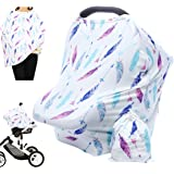Hicoco Nursing Cover Carseat Canopy - Baby Breastfeeding Cover, Car Seat Covers for Babies, Multi Use Nursing Scarf…
