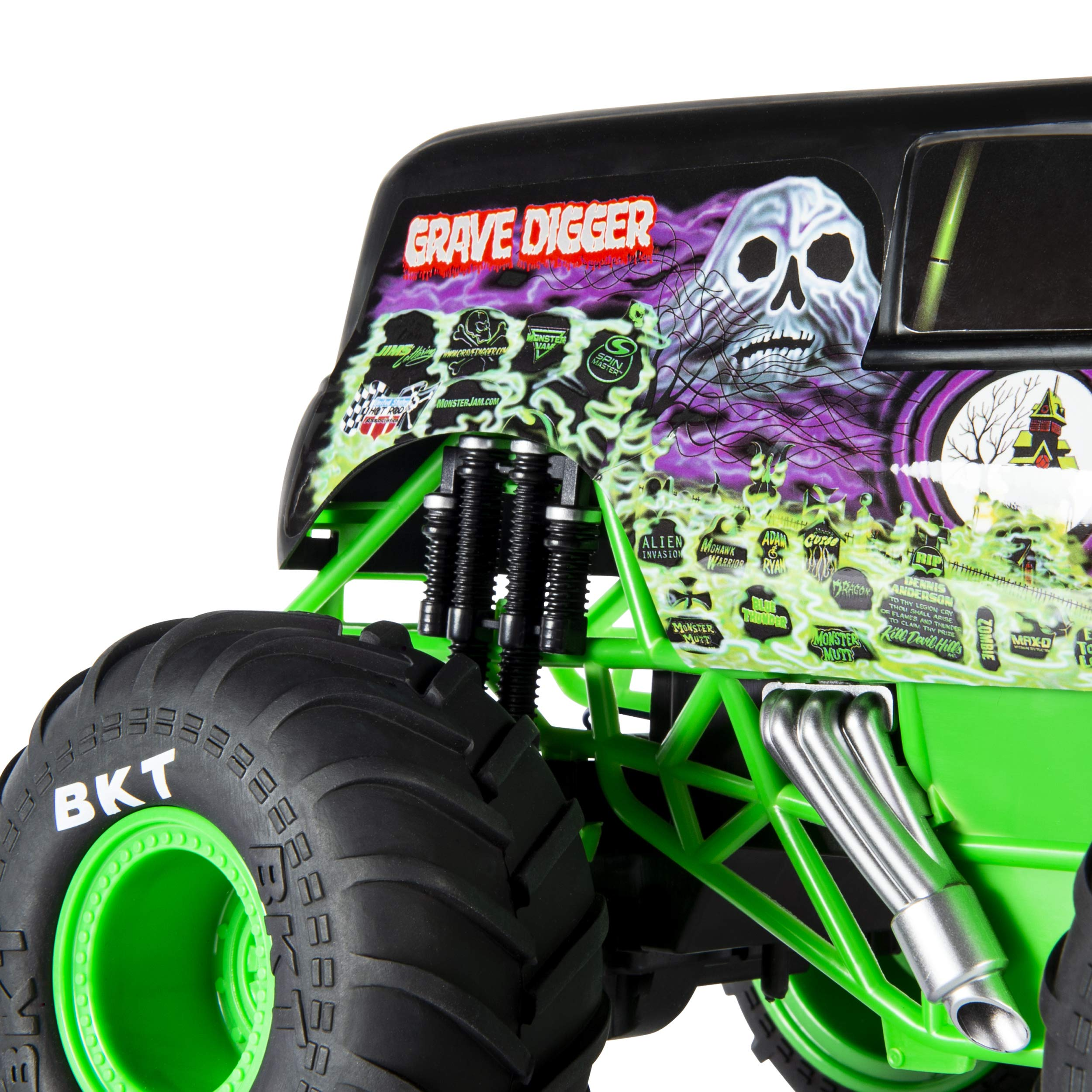 Monster Jam Official Grave Digger Remoter Control Monster Truck, 1: 15 Scale, 2.4Ghz by Monster Jam (Image #6)