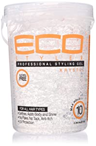 ECOCO Eco Style Gel, Clear, 80 Ounce