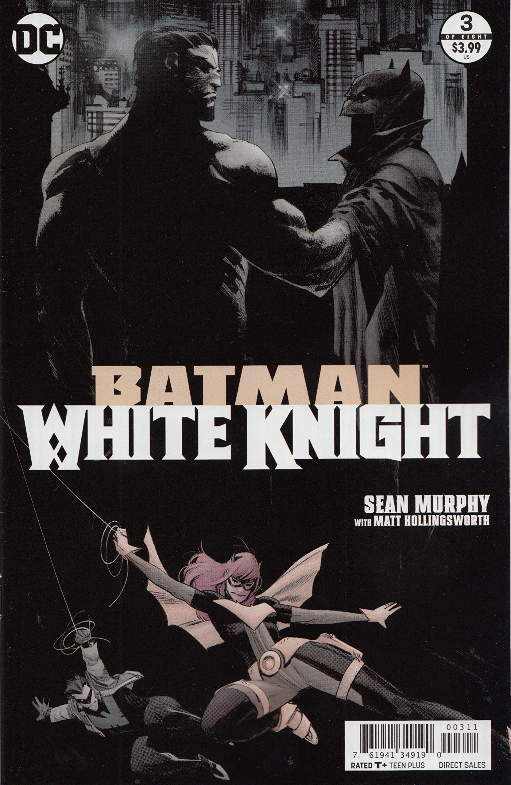 OF 8 DC COMICS NEAR MINT 12//6//17 BATMAN WHITE KNIGHT #3