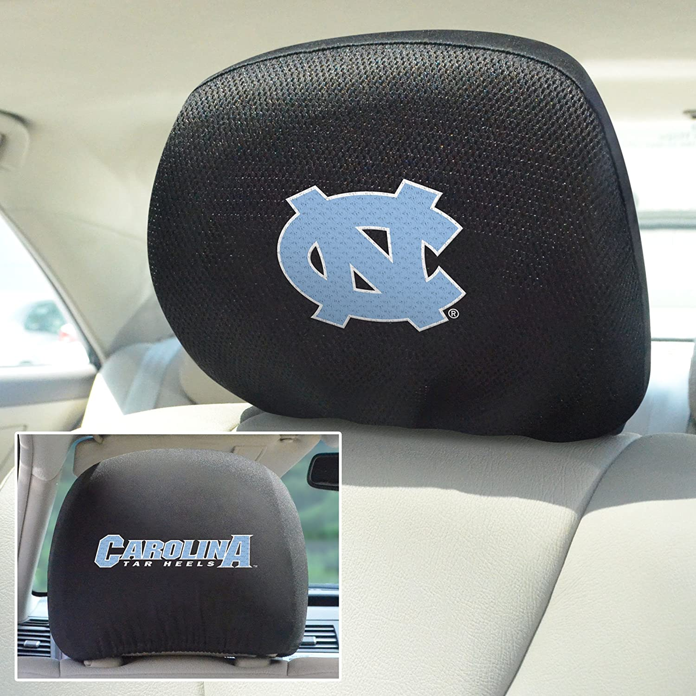 FANMATS  12609  NCAA UNC University of North Carolina Chapel Hill Tar Heels Polyester Head Rest Cover