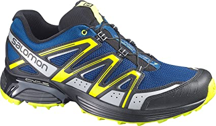 the latest 82ad7 1f72b Salomon XT Hornet Trail Running Shoes, Men s UK 12 (Gentiane Black Gecko