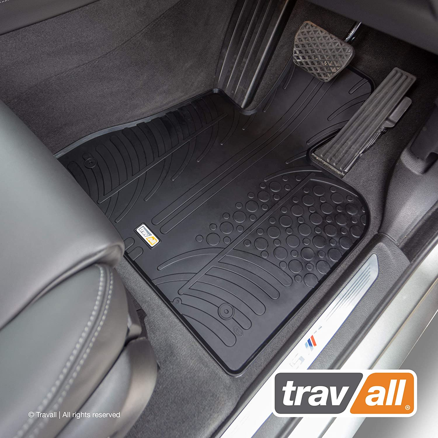 Travall Mats TRM1090R - Vehicle-Specific Rubber Floor Car Mats