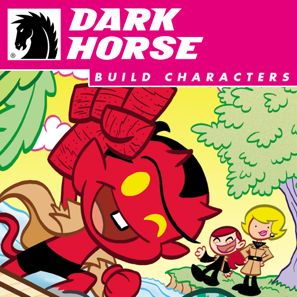 Dark Horse Builds Characters (Issues) (7 Book Series)