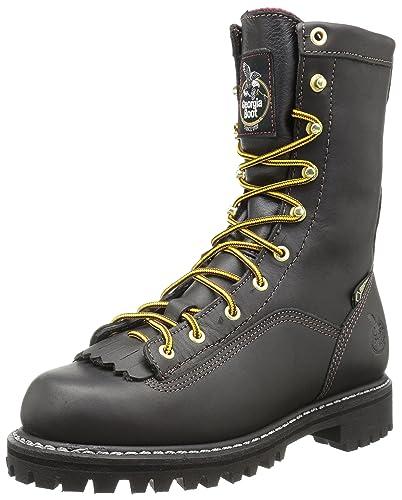 ca4fcb4a8c7f Georgia Boot Lace-to-Toe Gore-TEX Waterproof Insulated Work Boot Black
