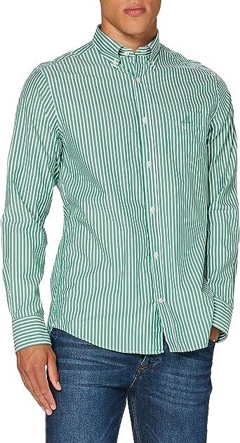 GANT The Broadcloth Stripe Reg BD Camisa para Hombre: Amazon.es: Ropa y accesorios