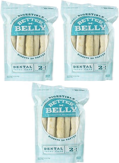 (3 Pack) Better Belly Small Dental Rolls