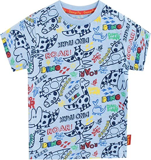 T-Shirt Peppa Pig George Pig Gar/çon