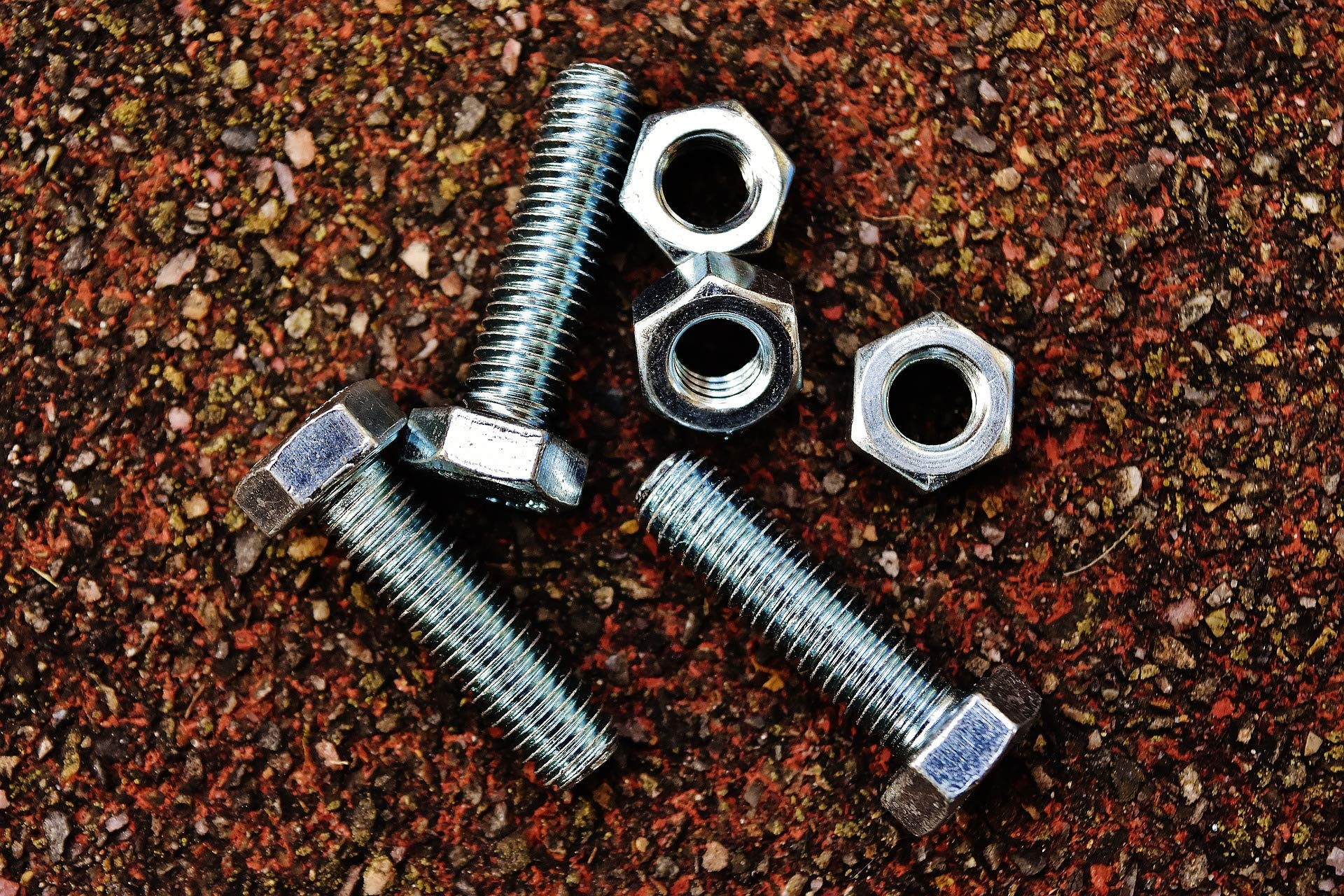 Ruddman Supplies - SAE Standard Assorted Nut and Bolt Hardware Set with Hard Plastic Organizing Case - 240 Piece Set by Ruddman Supplies (Image #5)