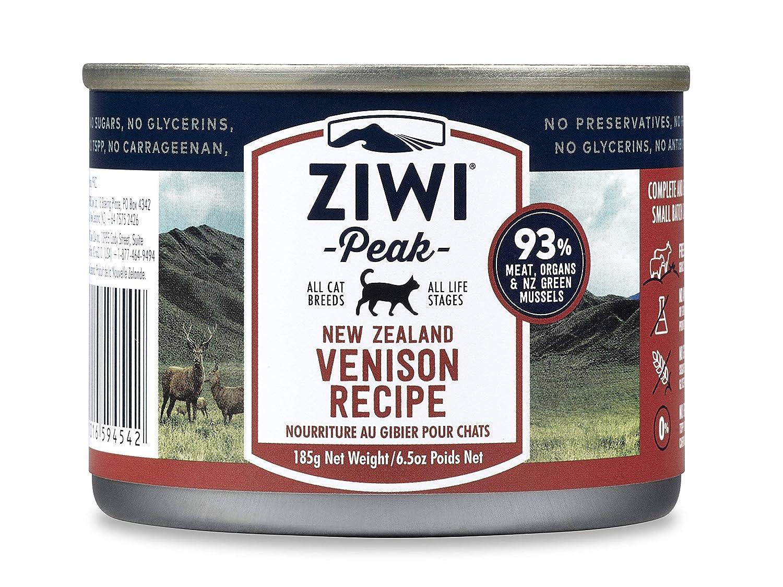185 g ZiwiPeak Daily Cat Cuisine Venison Cans, 185 g, Pack of 12