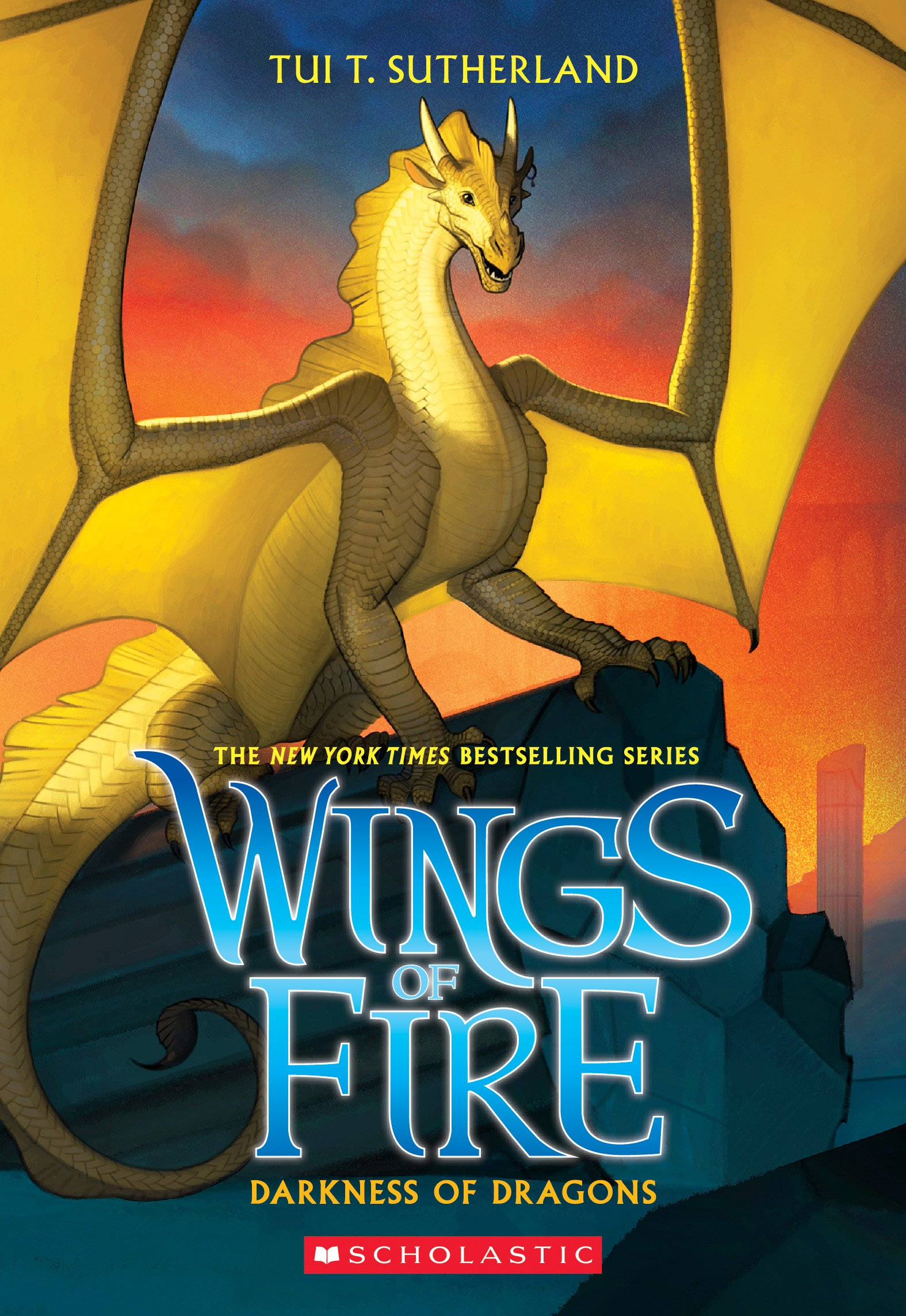 Darkness Of Dragons Wings Of Fire Band 10 Amazon De Tui T