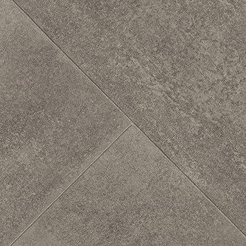 Pvc Bodenbelag Steinoptik Fliesenoptik Diagonal Grau 200 300