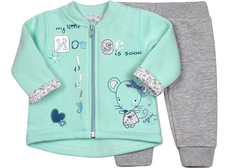 Be Mammy Conjunto Jersey y Pantalones Ropa Beb/é Ni/ña Mouse1 7306