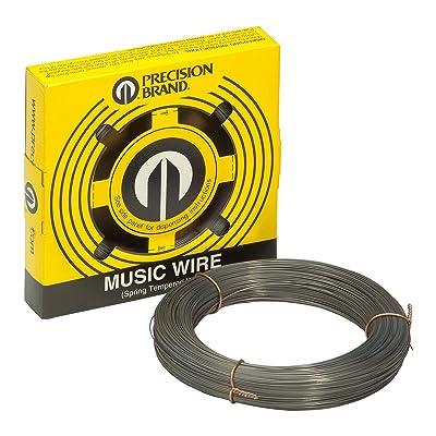 PRECISION BRAND Music Wire, Steel Alloy, 0.031 in: Industrial & Scientific