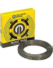 Precision Brand Music Wire, Steel Alloy, 0.031 in