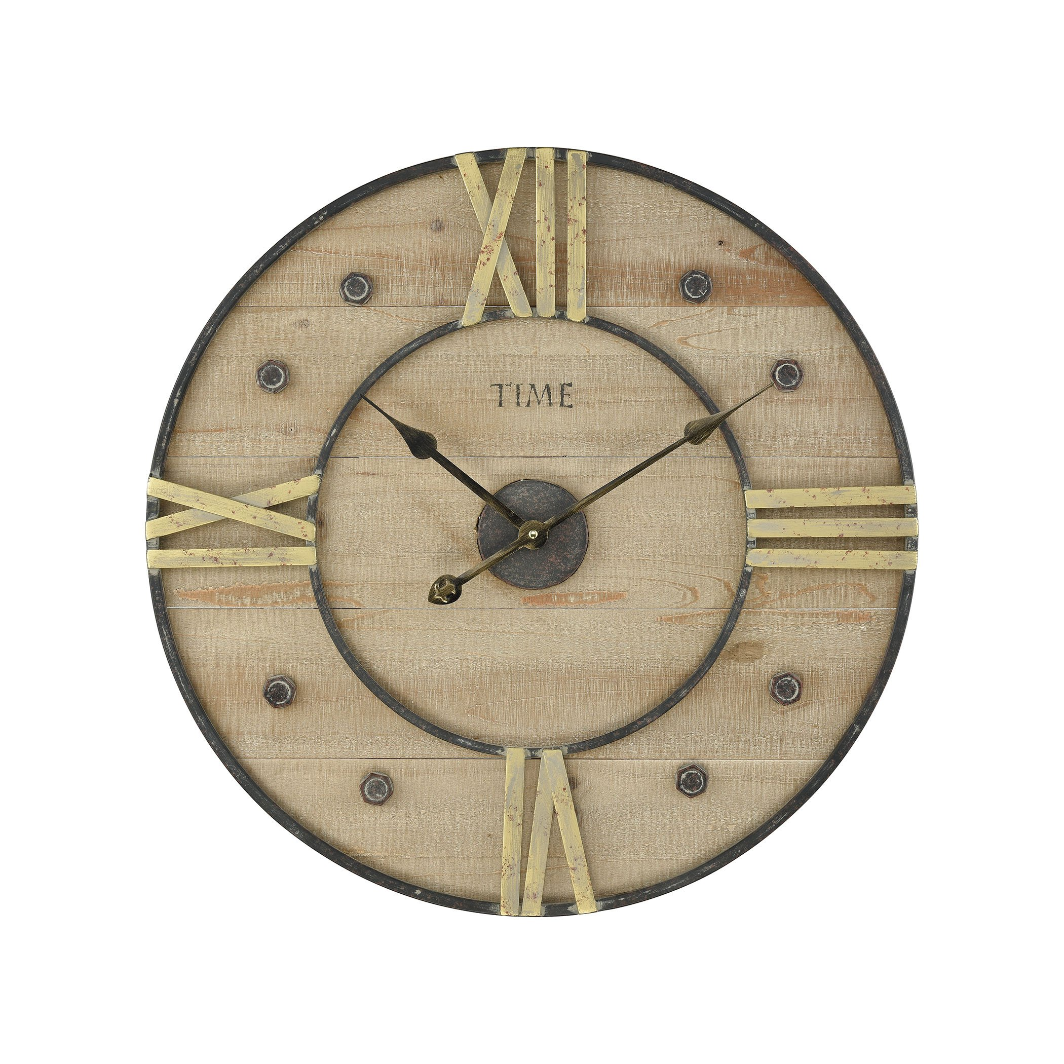 Pomeroy 916496 Cambridge Wall Clock by Pomeroy