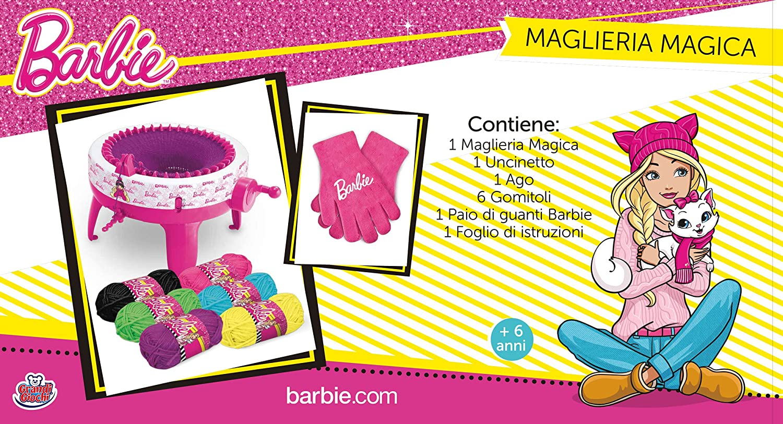 Pubblicità di Cartoonito (TV): Grandi Giochi - Maglieria Magica di Barbie al miglior prezzo