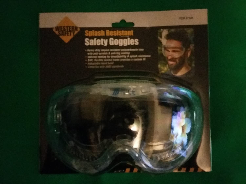 Western Safety Splash Resistant Safety Goggle HFT