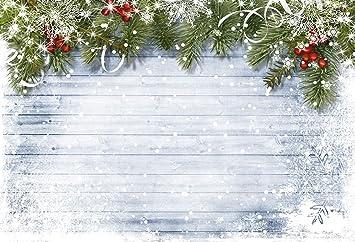 Katehome Photostudios Fondo De Fotografía De Navidad 22 15m Fondo Blanco De Madera Con Nieve Prop Foto Contextos De Fotos De Navidad