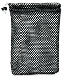 Amazon Price History for:Mesh Stuff Bag - Durable Mesh Bag with Sliding Drawstring Cord Lock Closure. Great for Washing Delicates, Rinsing Beach Toys, Seashell Collecting or Scout Mess Bags.