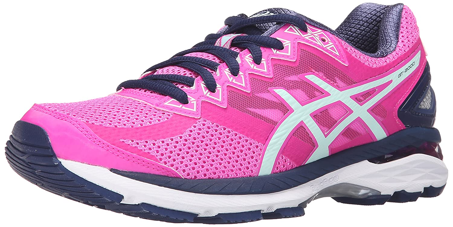 ASICS Women's GT-2000 4 Running Shoe B017USRYGM 5.5 B(M) US|Pink Glow/Soothing Sea/Indigo Blue