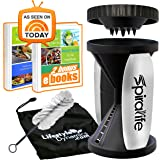 Spiralife Vegetable Slicer (2 Blade - Handheld, Black)