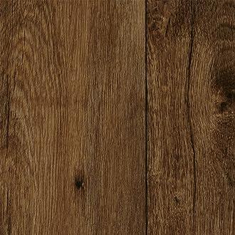 BODENMEISTER BM70555 Vinylboden PVC Bodenbelag Meterware 200 400 cm breit 300 Holzoptik Diele Eiche dunkel