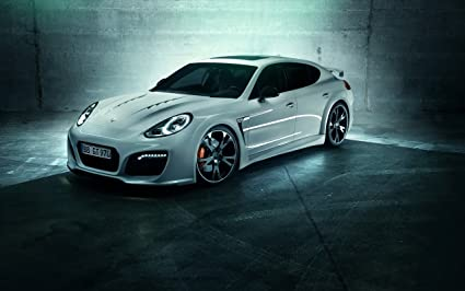 2014 Porsche Panamera Turbo Grandgt By Techart 8X10 Photo
