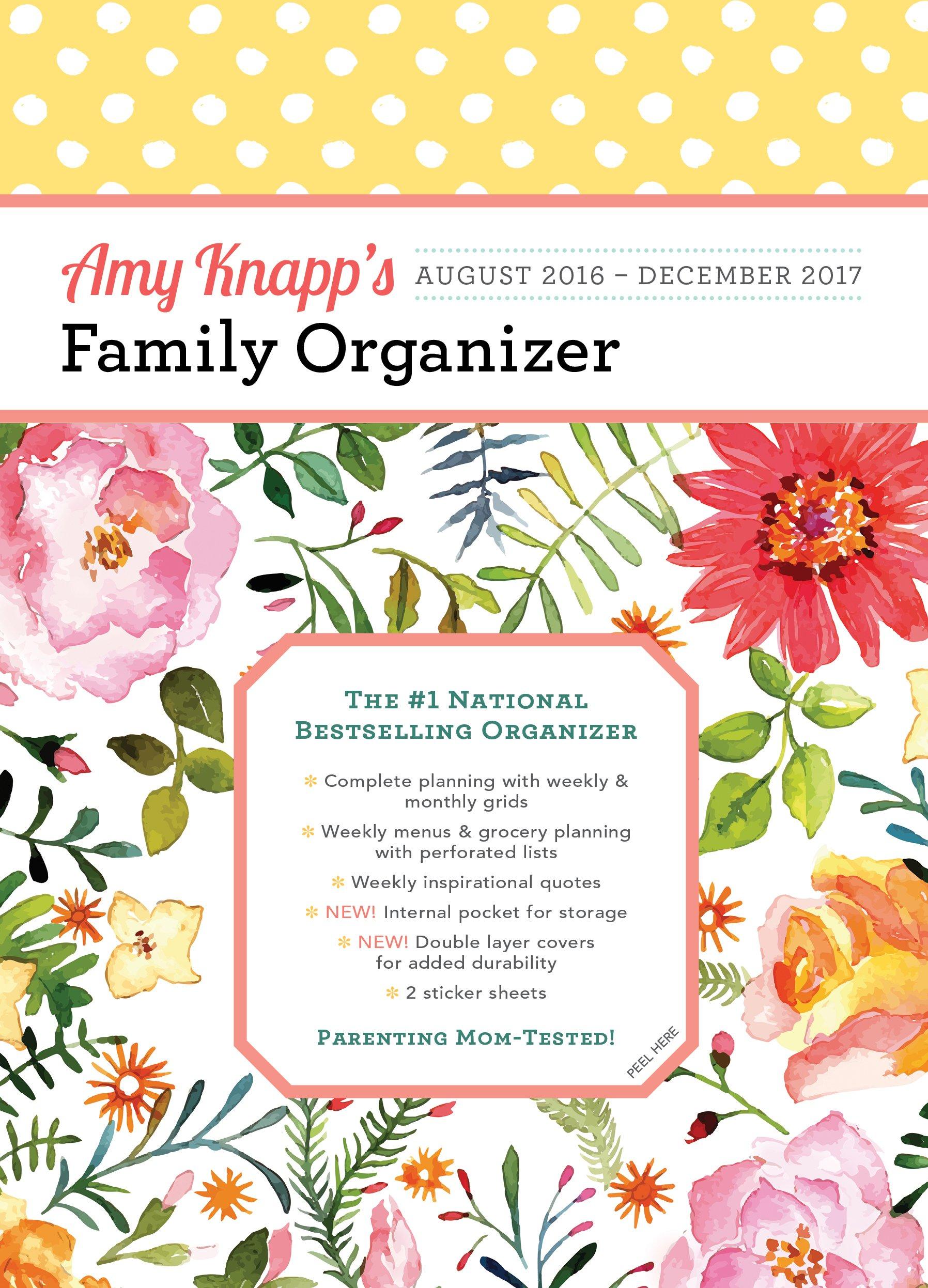 2017 Knapp Family Organizer 2016 December product image