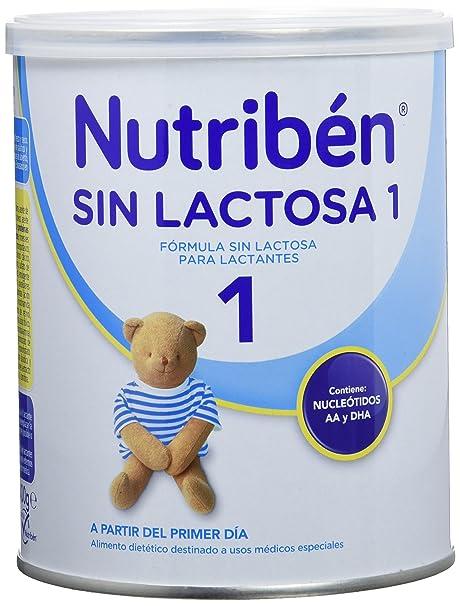 Nutribén Leche sin Lactosa 1-400 gr
