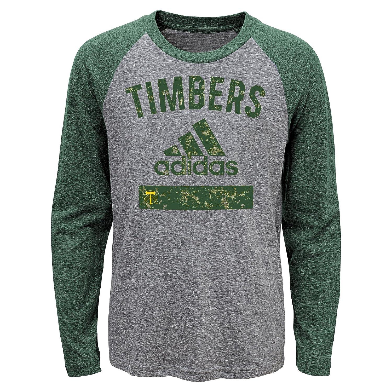大勧め MLS Portland Timbers Boys Boys – Triblend Equiptment長袖Tシャツ B01N17SXCT、ヘザーグレー、S ) (8 ) B01N17SXCT, JA帯広かわにし:adf2aebc --- a0267596.xsph.ru