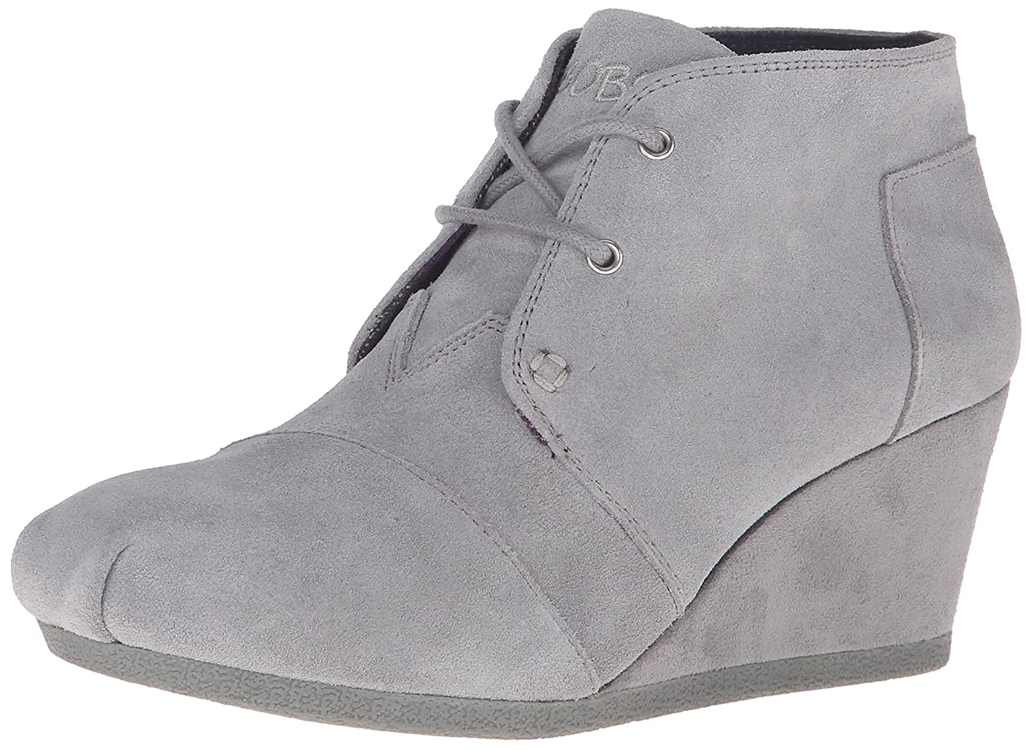 Skechers BOBS from Women's High Notes Wedge Boot B018BIRVHC 10 B(M) US|Gray