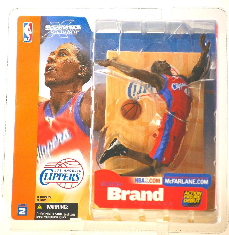 promocionales de incentivo McFARLANE NBA SERIES 2 ELTON ELTON ELTON BRAND L.A. CLIPPERS ACTION FIGURE  la mejor oferta de tienda online