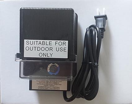 tdc power da 120 12w 1 transformer 12v 120w max landscape lighting power supply Outdoor Wiring Basics