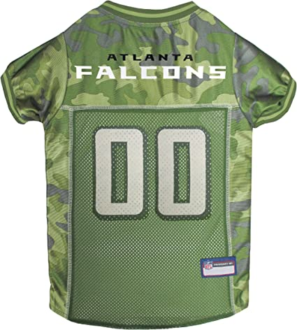 Atlanta Falcons Camouflage Dog Jersey